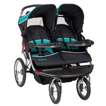 NEW! Twins Baby Infant Double Stroller Car Seats Comes with MP3 Plug-in US - $374.72
