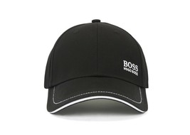 Hugo Boss Men's Cotton Twill Adjustable Sport Embroidered Logo Hat Cap 50245070 image 2
