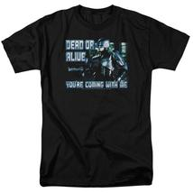 RoboCop Dead or Alive Retro 80's action movie graphic t-shirt MGM119 image 1