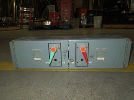 Challenger QMQB6636R 60/60A 3p 600V Twin Fusible Switch Unit Used - $500.00