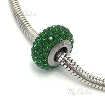Swarovski European Bracelet Charm Stainless BeCharmed Silm Pave Xilion Chaton image 11