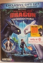 How to Train Your Dragon: The Hidden World Target Gift Set (Blu-ray+DVD+Digital)