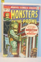 Monsters on the Prowl  Aug. 29 1976 Monster At My Window Marvel Comics VG+ - $9.99