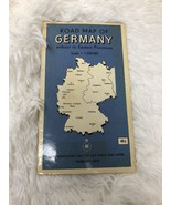 Vintage Road Map of Germany Without Eastern Provinces 1976 - $9.86