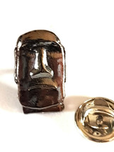easter island statue design Lapel /tie Pin Badge gift boxed