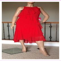 Lauren Ralph Lauren Women's Asymmetrical Crewneck Sleeveless Sheath Dress - $40.53