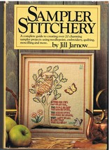 Sampler Stitchery by Jill Jarnow Book of Stitching Craft Projects - $7.75