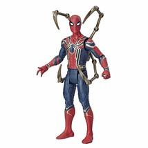 Avengers Marvel Iron Spider 6-Inch-Scale Marvel Super Hero Action Figure... - £22.25 GBP
