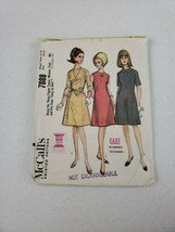 1965 Vintage MCCALL'S 7888 Misses' Teen Pre Teen Dress Size 12-14 Bust 3... - $8.50