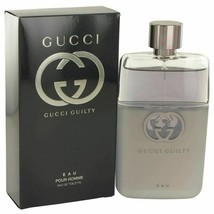 Gucci Guilty Eau by Gucci Eau De Toilette Spray 3 oz for Men - $75.33