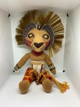 """The Lion King The Broadway Musical Simba Soft Plush Toy 10"""" Tall - $15.83"""