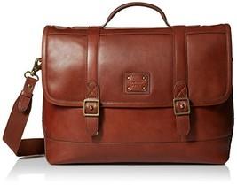 Cole Haan Men's Van Buren Leather Briefenger, British Tan - $477.07
