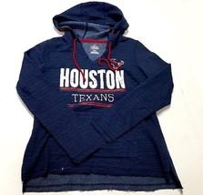 Majestic Fan Fashion Men Long Sleeve Hoodie Sweatshirt Houston Texans Bl... - $15.99