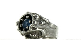 Ladies Size 5 Sterling Silver Sky Blue Topaz Fashion Ring No, 2101 image 1