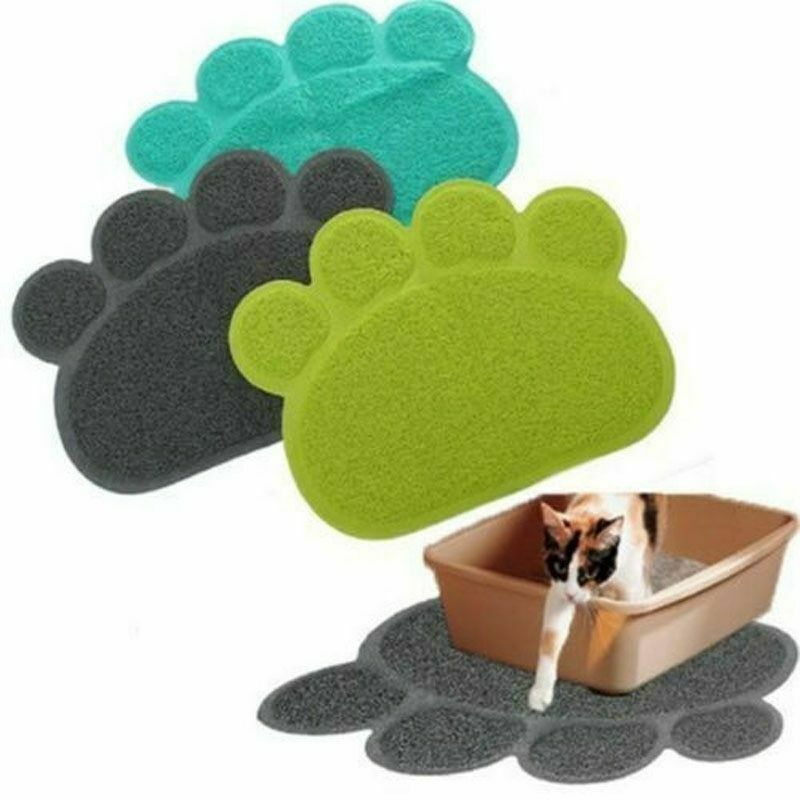 Primary image for Pet Feeding MAT Small Dog/Puppy/Cat/Kitten Feeding/Food Mat Dish/Bowl Place