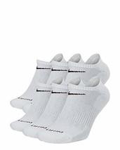 Nike Everyday Plus No Show Socks 6 Pack Grey 8-12 SX6898-063 - $29.99