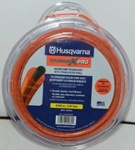 Husqvarna 596780501 Titanium X Pro Trimmer Line Orange 200 ft  .105 size image 1
