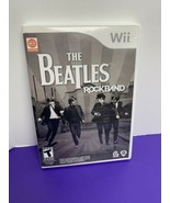 The Beatles: Rock Band (Wii, 2009) Game Only with Original Manual - $9.89