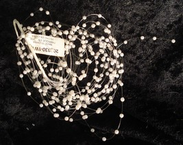 "22"" Faux Pearl Baby Breath Pick - $9.99"