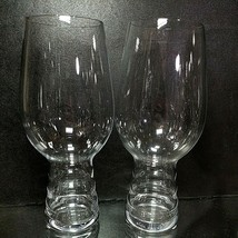 2 (Two) SPIEGELAU CRAFT BEER GLASSES Blown Crystal, 19-Ounce - Signed - $20.89