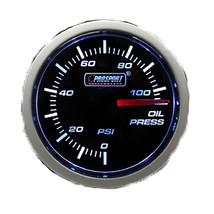 Prosport Performance 52mm Reliable Electrical Oil Pressure Gauge, Amber ... - $57.00