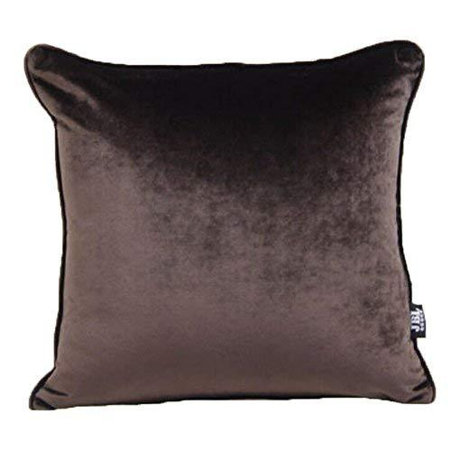 Primary image for Panda Superstore Simple Modern Home Furnishing Solid Colored Suede Sofa Pillow-D