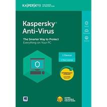 Kaspersky Anti-Virus 2018 | 1 Device | 1 Year [PC Key Code] - $46.95