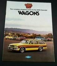 Chevrolet 1978 Wagons Sales Brochure Malibu Monza Caprice Impala Framable - $6.99