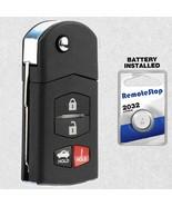 For 2005 2006 2007 2008 Mazda 6 Sedan RX-8 Keyless Entry Flip Remote Key Fob - $19.69