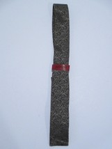 Alfani Vine Solid SQ Bot Necktie, Taupe, One Size - $24.50