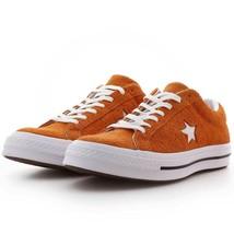 Converse Mens One Star Ox Suede 161574C Orange/White Size 8.5 Unisex - $64.99