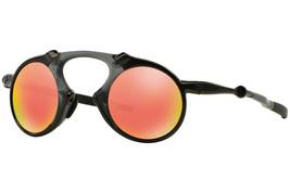 Oakley Sunglasses Madman X-Metal Dark Carbon w/Ruby Iridium Polarized OO6019-04 - $448.72