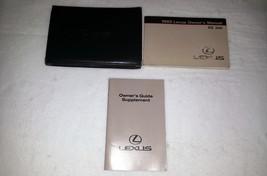 1992 Lexus ES300 Owners Manual 00128 - $22.72