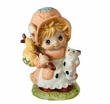 Homco Home Interior porcelain figurine sculpture gift vtg hobo Bindle stick girl - $24.70