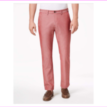 Tommy Hilfiger Men's Custom-Fit Chambray Chino Casual pant - $15.07