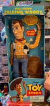 Thinkway Toys Original 1995/96 Toy Story Pull String Woody Still New in ... - $420.75