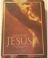 NEW The Life of Jesus 3 Disc DVD Collector Edition 2007 Tin Case Easter ... - $14.80