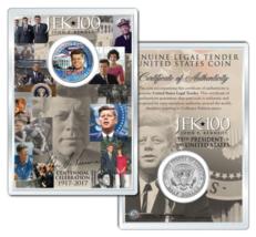 Whitehouse JOHN F KENNEDY 100th BIRTHDAY 2017 Kennedy Half Dollar w/ 4x6... - $12.95