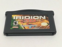 Iridion 3D Nintendo Game Boy Advance GBA 2001 Video Game Tested Working  - $10.86