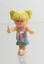 1992 Vintage Lot Polly Pocket Doll Stampin' School - Tiny Tina Bluebird ... - $5.00