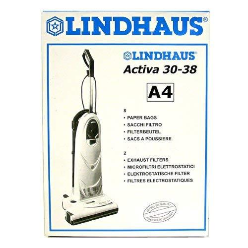 Lindhaus Activa 30-38 A4 Vacuum Bags