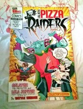 Alien Pizza Raiders #1 Comic McCain Ellios Collectors Edition 1991 - $18.53