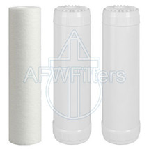 3-Stage Activated Alumina & KDF55 Filter Kit (for CF3-2510-AA55SD) - $67.71