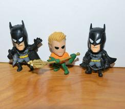DC COMICS GRAB ZAGS MINI FIGURE LOT AQUAMAN BATMAN MINI ACTION FIGURES TOYS - $10.04