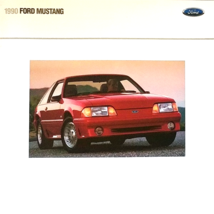 1990 Ford MUSTANG sales brochure catalog US 90 LX GT 5.0L - $9.00