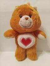 "Tenderheart Orange Brown Carebear Carlton Cards 13"" - $9.50"