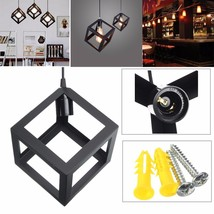 E27 Loft Industrial Retro Metal Iron Pendant Lamp Shade Edison Village S... - $24.41