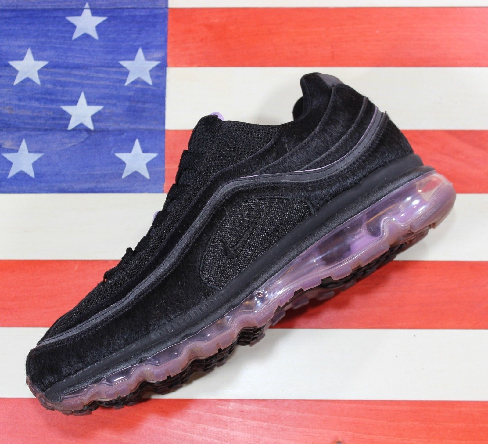 premium selection d69ef 0eb66 Nike Air Max 24 7 Black Pink Pony Hair and 44 similar items