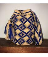 Authentic 100% Wayuu Mochila Colombian Bag medium Size unisex neutral co... - $52.00