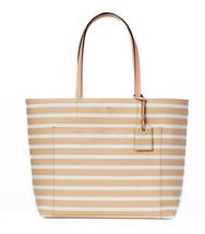 kate spade new york hyde lane riley tote bag - classic camel/cream - $178.00